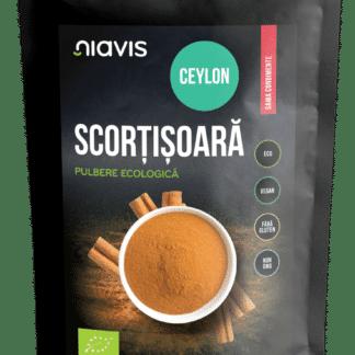 Scortisoara Ceylon Pulbere Ecologica/BIO 60g, Niavis