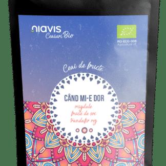 """Ceai Ecologic/BIO """"Cand Mi-e Dor"""" 50g, Niavis"""