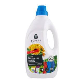Detergent Lichid pentru Rufe Colorate cu Galbenele ECO 1L, Purenn
