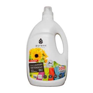 Detergent Lichid pentru Rufe Colorate cu Galbenele ECO 3L, Purenn