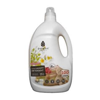 Detergent Lichid pentru Rufele Copiilor cu Musetel ECO 3L, Purenn