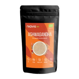 Ashwagandha Pulbere Ecologica/BIO 125g, Niavis