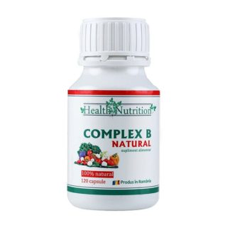 Complex B Natural, 120 cps, Health Nutrition