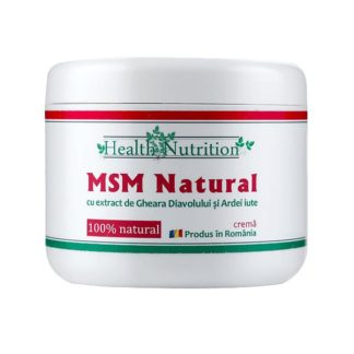 MSM Natural Crema, 200 ml, Health Nutrition