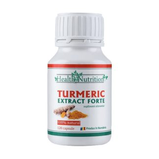 Turmeric Extract Forte, 120 cps, Health Nutrition
