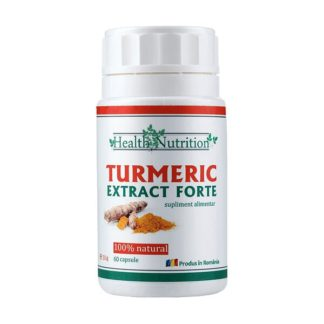 Turmeric Extract Forte, 60 cps, Health Nutrition
