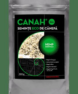 Seminte decorticate de canepa ECO 500g, Canah