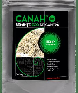 Seminte decorticate de canepa ECO 1000g, Canah