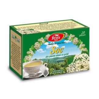 Ceai de Soc, 20 plicuri, Fares