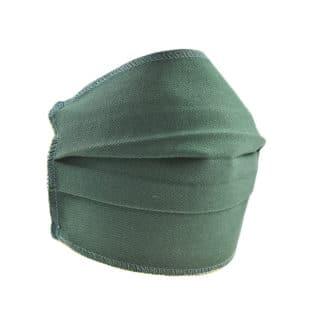 Set 10 masti de protectie reutilizabile 2 straturi polipropilena, Verde