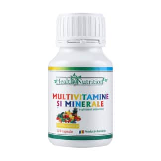 Multivitamine și Minerale, 120 cps, Health Nutrition