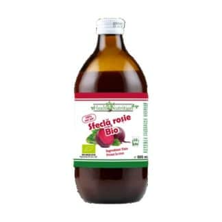 Suc Sfecla Rosie BIO 100% Pur, 500 ml, Health Nutrition