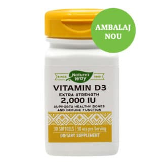 Vitamin D3 2000UI, 30cps, Secom
