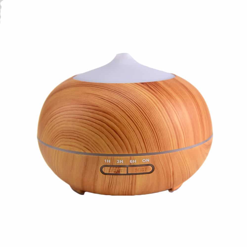 Difuzor Aromaterapie cu Ultrasunete Lemn model nou, 400 ml, Planteco