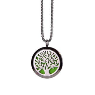 Colier pentru difuzarea uleiurilor esentiale Tree Life, Planteco