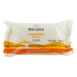 Sapun MELORA® cu miere MANUKA BIO din Noua Zeelanda, 100 g, natural