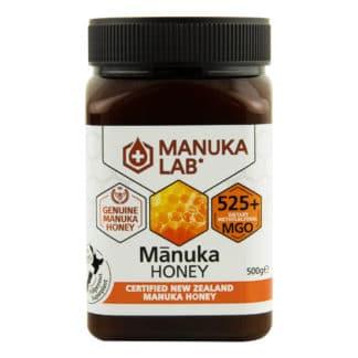 Miere de Manuka MANUKA LAB, MGO 525+ Noua Zeelanda, 500 g, naturala