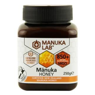 Miere de Manuka MANUKA LAB, MGO 850+ Noua Zeelanda, 250 g, naturala