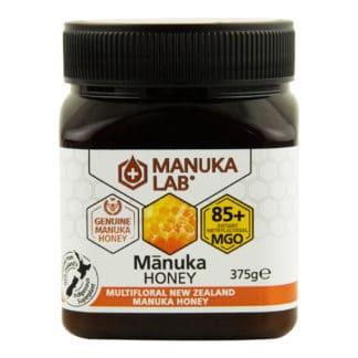 Miere de Manuka poliflora MANUKA LAB, MGO 85+ Noua Zeelanda, 375 g, naturala