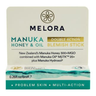 Stick anti-imperfectiuni MELORA® cu miere de MANUKA MGO 300+ si ulei de MANUKA MBTK 25+, 8 ml, natural