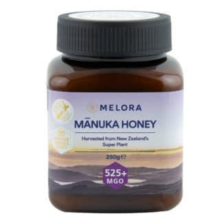 Miere de Manuka MELORA, MGO 525+ Noua Zeelanda, 250 g, naturala