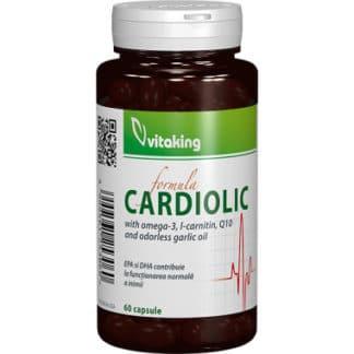 Complex Cardiolic pentru inima, 60 cps, Vitaking