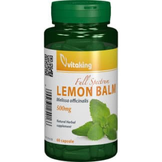 Roinita (Lemon Balm) 500mg, 60 cps, Vitaking