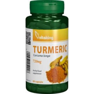 Turmeric (Curcuma) 720mg, 60 cps, Vitaking