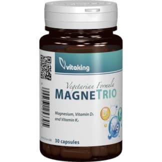 MagneTrio (Vitamina K2, Magneziu si D3), 30 cps, Vitaking
