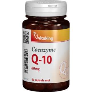Coenzima Q10 naturala 60mg, 60 cps, Vitaking