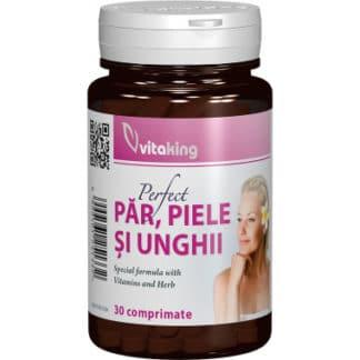 Supliment natural pentru par, piele si unghii, 30 cpr, Vitaking