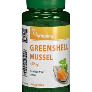 Scoica cu cochilie verde 400 mg, 30 cps, Vitaking