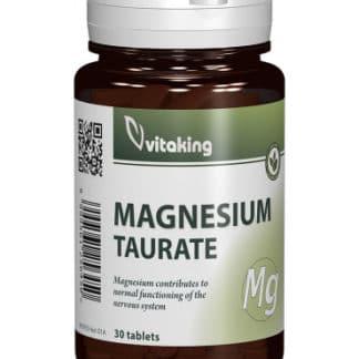 Taurat de Magneziu, 30 cpr, Vitaking