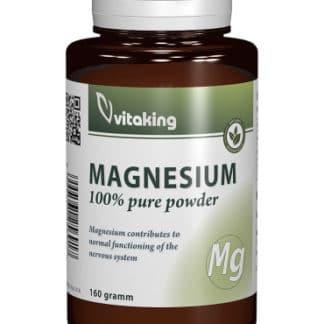 Pulbere citrat de magneziu, 160 gr, Vitaking