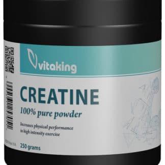 Creatina monohidrat (micronizata), 250 g, Vitaking