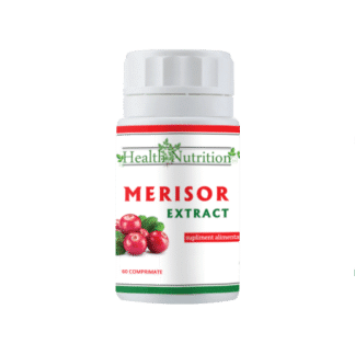 Extract Merisor, 60 cps, Health Nutrition