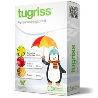 Tugriss, 30 comprimate, Polisano Pharmaceuticals