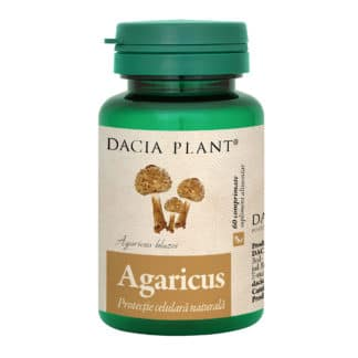 Agaricus comprimate, 60 cpr, Dacia Plant