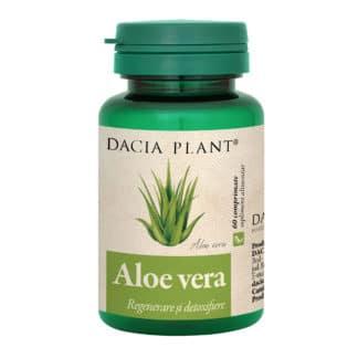 Aloe Vera comprimate, 60 cpr, Dacia Plant