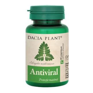 Antiviral comprimate, 60 cpr, Dacia Plant