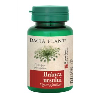 Branca Ursului comprimate, 60 cpr, Dacia Plant