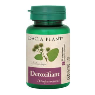 Detoxifiant comprimate, 60 cpr, Dacia Plant