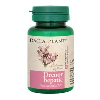 Drenor Hepatic comprimate, 60 cpr, Dacia Plant