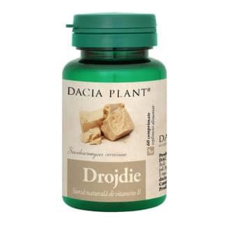 Drojdie comprimate, 60 cpr, Dacia Plant