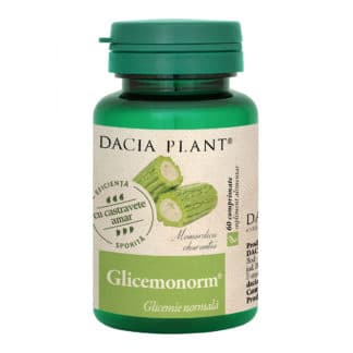 Glicemonorm comprimate, 60 cpr, Dacia Plant