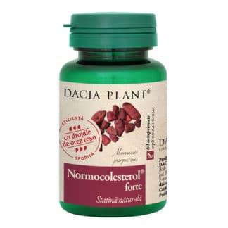Normocolesterol Forte comprimate, 60 cpr, Dacia Plant