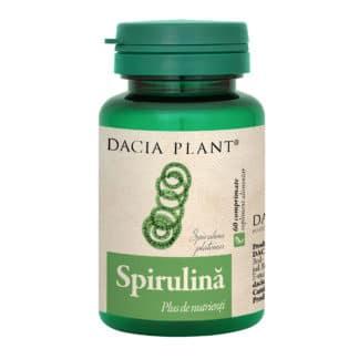 Spirulina comprimate, 60 cpr, Dacia Plant