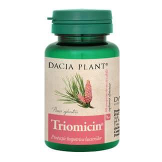 Triomicin comprimate masticabile, 60 cpr, Dacia Plant