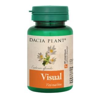 Visual comprimate, 60 cpr, Dacia Plant