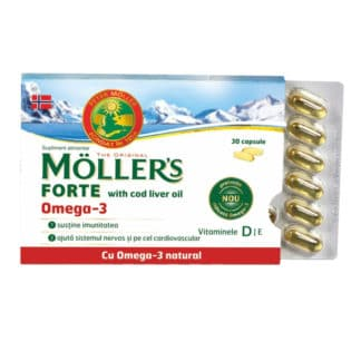 Omega 3, 30 cps, Moller's
